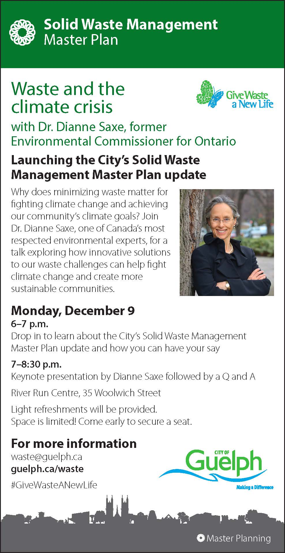 Guelph waste Master Plan launch